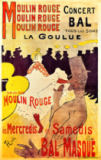 Henri de Toulouse-Lautrec - Poster advertising 'La Goulue' at the Moulin Rouge, 1893