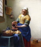 Jan Vermeer van Delft - The Milkmaid, c.1658-60