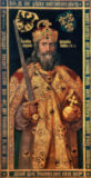 nach Albrecht Dürer - Charlemagne, Charles the Great (747-814) King of the Franks, Emperor of the West, in his coronation robes, c.1512-12