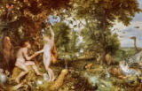 Jan & Peter Paul Brueghel & Rubens - Adam and Eve in Paradise, c.1610-15