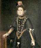 Sofonisba Anguisciola - Infanta Catalina Micaela, Duchess of Savoy (1567-97), daughter of Philip II of Spain (1556-98) and Isabella of Valois (1545-68),