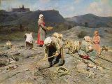 Nikolaj Alekseevich Kasatkin - Poor People Gathering Coal at an Exhausted Mine, 1894