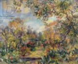 Pierre Auguste Renoir - Landscape at Beaulieu, c.1893