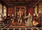 Lucas de Heere - The Family of Henry VIII: An Allegory of the Tudor Succession, c.1570-75