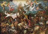 Pieter Brueghel der Ältere - The Fall of the Rebel Angels, 1562