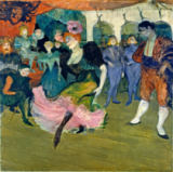 Henri de Toulouse-Lautrec - Marcelle Lender Dancing the Bolero in 'Chilperic', 1895