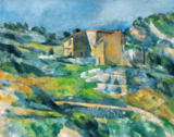 Paul Cézanne - Houses in the Provence: The Riaux Valley near L'Estaque, c.1833