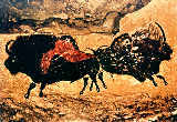 Unbekannt - Rock painting of bison, c.17000 BC
