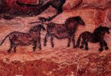 Unbekannt - Rock painting of tarpans , c.17000 BC