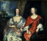 Anthonis van Dyck - A. Dalkieth  and Lady Kirk, 1640