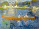 Pierre Auguste Renoir - Boating on the Seine, c.1879