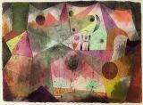 Paul Klee - With the H, 1916 (no 77)