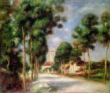 Pierre Auguste Renoir - The Road to Essoyes, 1901