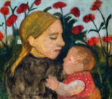 Paula Modersohn-Becker - Mother and Child, c.1904