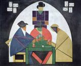 Theo van Doesburg - The Card Players, 1916/17