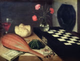 Lubin Baugin - Still Life with Chess-board, 1630