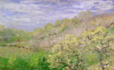 Claude Monet - Trees in Blossom