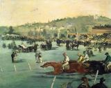 Edouard Manet - Horse Racing, 1872