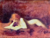 Jean-Jacques Henner - The Reader
