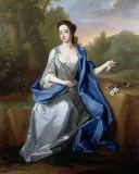 Michael Dahl - Portrait of a lady, thought to be Elizabeth, Duchess of Beaufort, c.1715