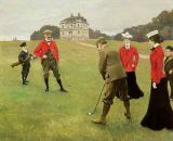 Paul Fischer - Golf Players at Copenhagen Golf Club