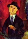 Amedeo Modigliani - Paul Guillaume (1893-1934) Novo Pilota, 1915