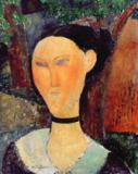Amedeo Modigliani - Woman with a Velvet Neckband, c.1915