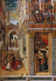 Carlo Crivelli - The Annunciation with St. Emidius, 1486