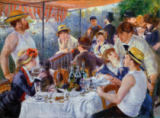 Pierre Auguste Renoir - The Luncheon of the Boating Party, 1881