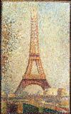 Georges Pierre Seurat - The Eiffel Tower, 1889