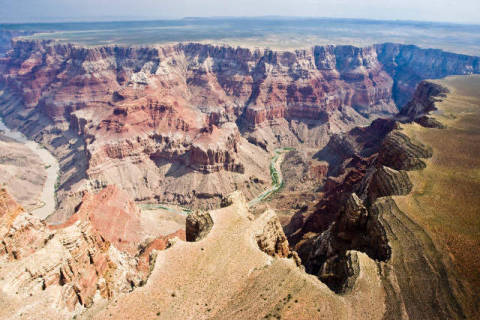 Grand Canyon, South Rim, Arizona, USA, high angle view of artist Andreas Geh (F1 Online) as framed image