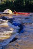 All Canada Photos (F1 Online) - Whiteshell-Fluss, Whiteshell Provincial-Park, Tenting