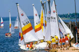 All Canada Photos (F1 Online) - Charlottetown Harbour, Dory, Segeln