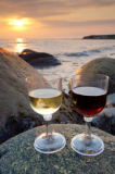 All Canada Photos (F1 Online) - Grüner Punkt, Weinbrille, Wein-Glas, Kanadische Nationalparks