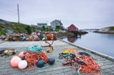 All Canada Photos (F1 Online) - Taue, Peggys Cove, Angelnsindustrie