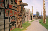 All Canada Photos (F1 Online) - Skeena-Region, Bighouse, Großes Haus, Longhouse