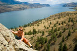 All Canada Photos (F1 Online) - Kamloops-See, Rockclimbing