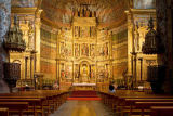 S. Tauqueur (F1 Online) - Interior of a church, looking towards the altar, Elciego, Spain