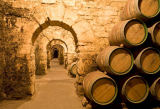 S. Tauqueur (F1 Online) - Wine casks in a wine cellar, La Rioja, Spain
