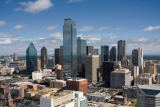 Beate Münter (F1 Online) - Cityscape of Dallas, USA, high angle view