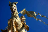 Beate Münter (F1 Online) - Jeanne d`Arc Monument, New Orleans, Louisiana, USA