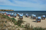 W. Otto (F1 Online) - Hooded beach chairs at the coast of Boltenhagen, Germany