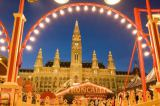 Austrophoto (F1 Online) - Circus in front of the town hall in Vienna, Austria, low angle view