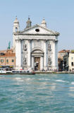 David & Micha Sheldon (F1 Online) - Church at the waterfront of a canal, Venice, Italy