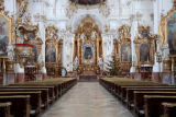 Beate Münter (F1 Online) - Interior view of a church, Diessen am Ammersee, Germany