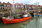 Norbert Hohn  (F1 Online) - Shrimp boats in Neuharlingersiel harbour, Germany