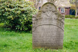 M. Werner (F1 Online) - Historic tombstone on cemetery of Nieblum, Foehr, Germany