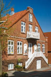 M. Werner (F1 Online) - Historical house in the pedestrian area, Wyk, Foehr, Germany