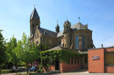 W. Otto (F1 Online) - Parish church Saint Nikolaus, Bensberg, Bergisch Gladbach, North Rhine-Westphalia, Germany, Europe