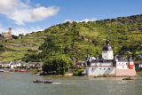 Steiner (F1 Online) - Pfalzgrafenstein Castle in the Rhine, Kaub, Germany